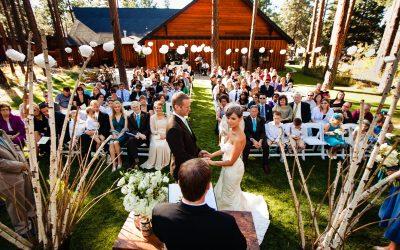 Five Pine Lodge Wedding – Jessica & Matt