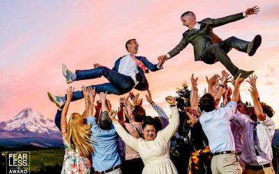 Mt Hood Organic Farms Wedding – Mark & David