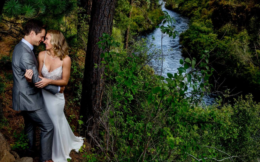 House on Metolius Wedding – Katy & Derek