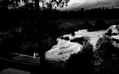 Lindsay + Jeff – House on Metolius
