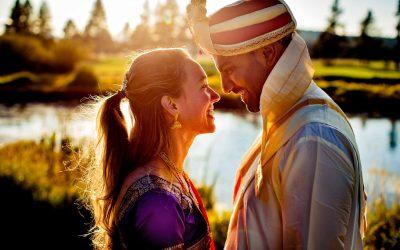 Heather & Krishna – Sunriver