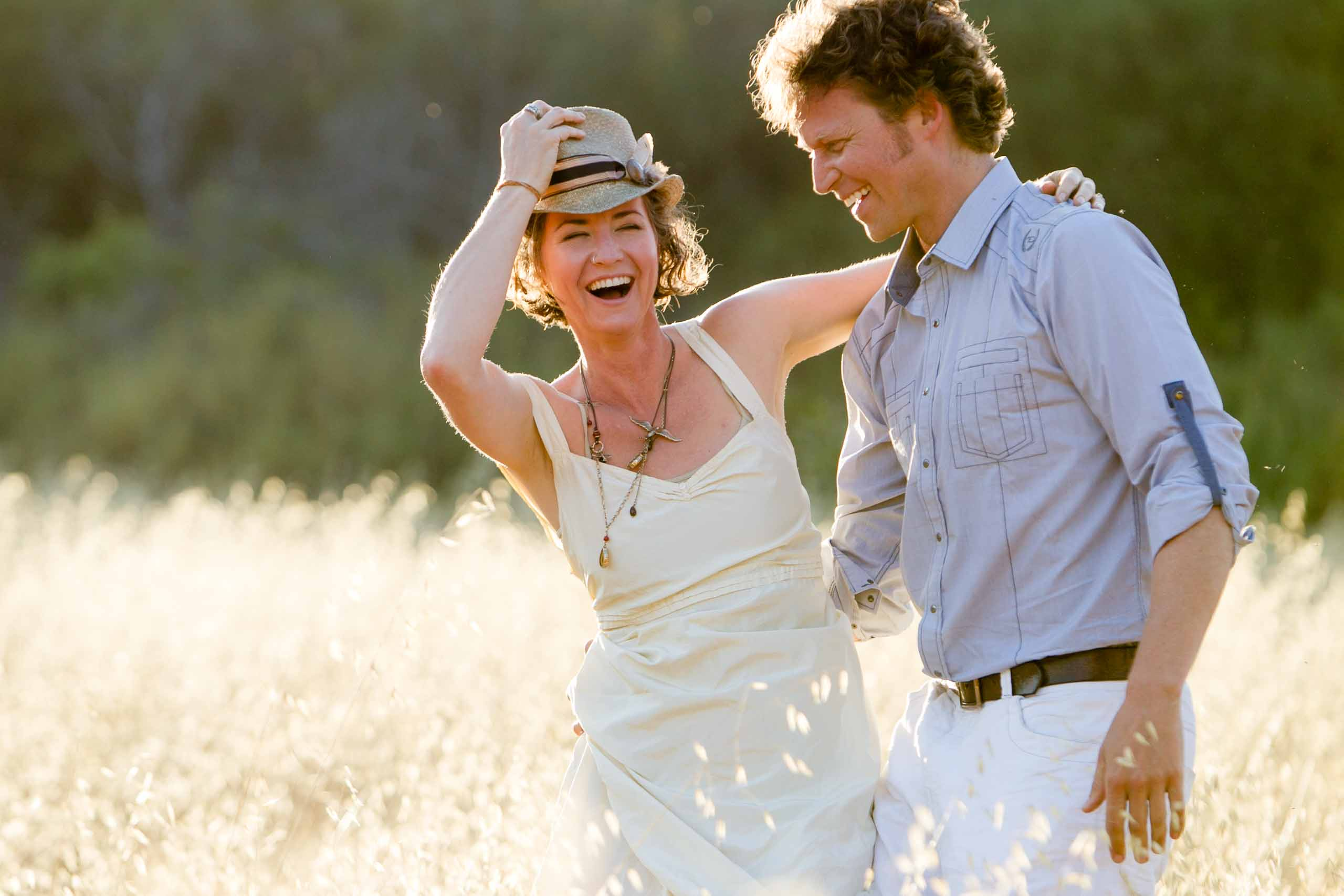Jos and Tree engagement photos in Ojai California by Tomas Flint Photographer