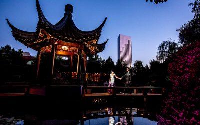Portland Chinese Gardens Elopement – Kelsea & Tal