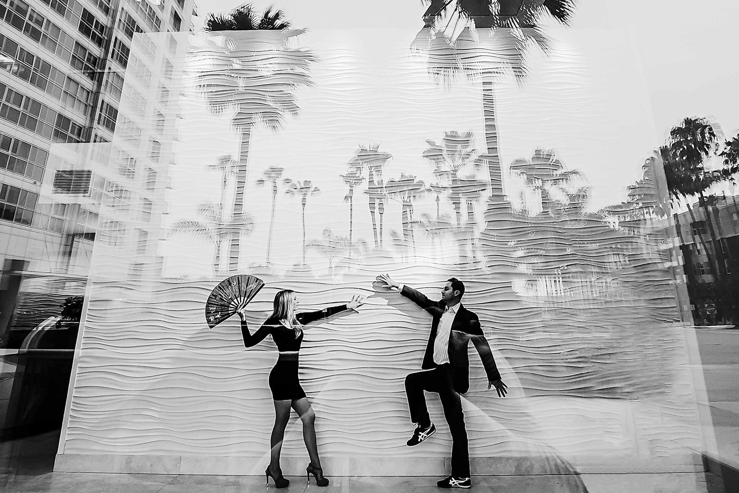 Creative Engagement Photos in Los Angeles