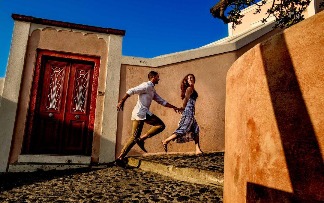 Kelsey & Nic – Santorini, Greece