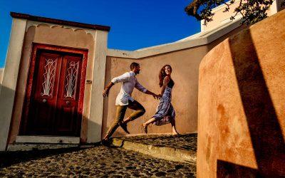Kelsey & Nic – Santorini