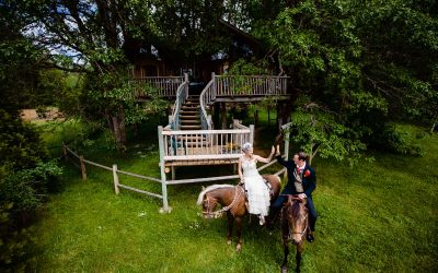 Tree House Resort Wedding – Laci & Michael