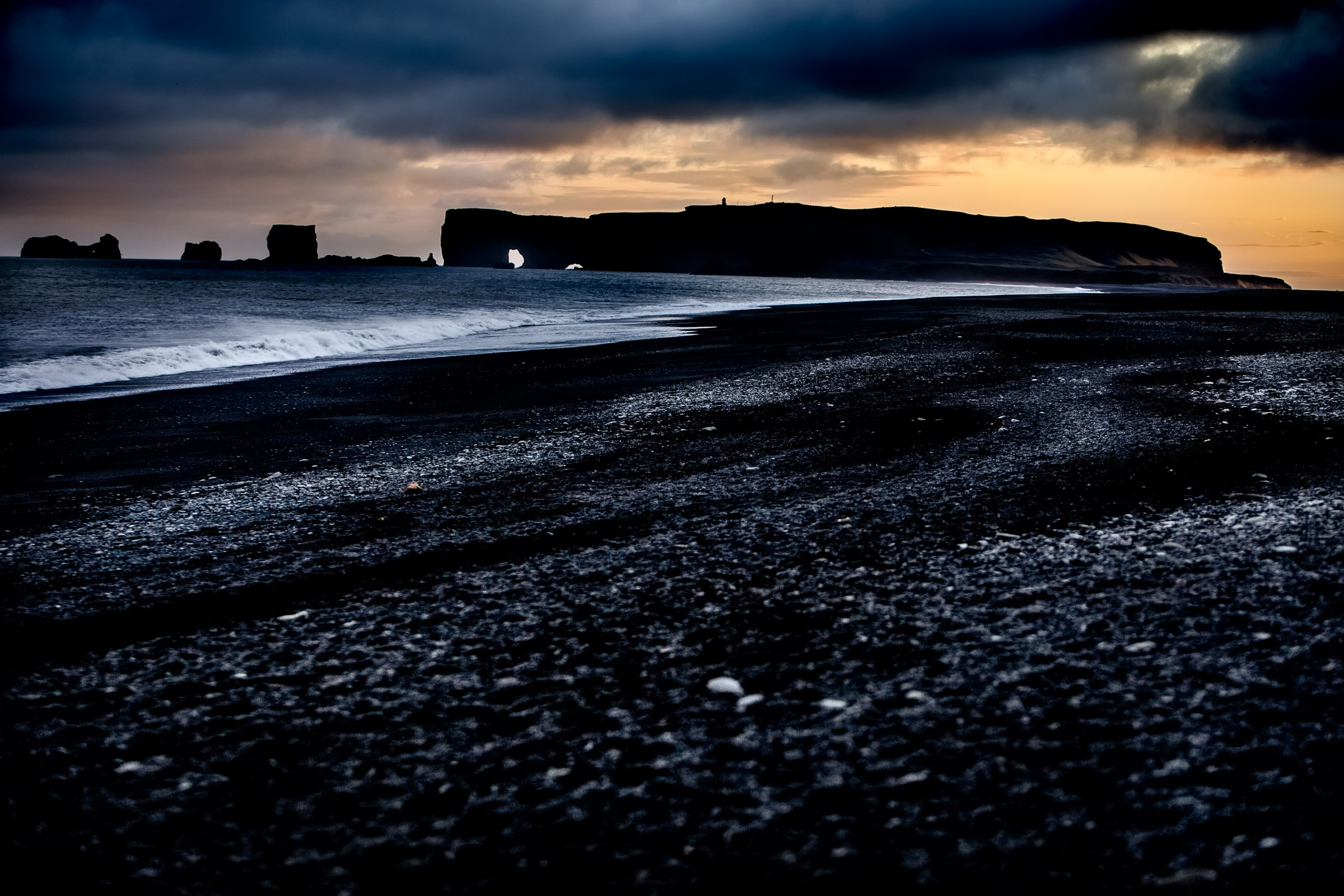 An ominous ocean near Vic Iceland where Jos and Tree were exploring Iceland Engagement Photo Ideas