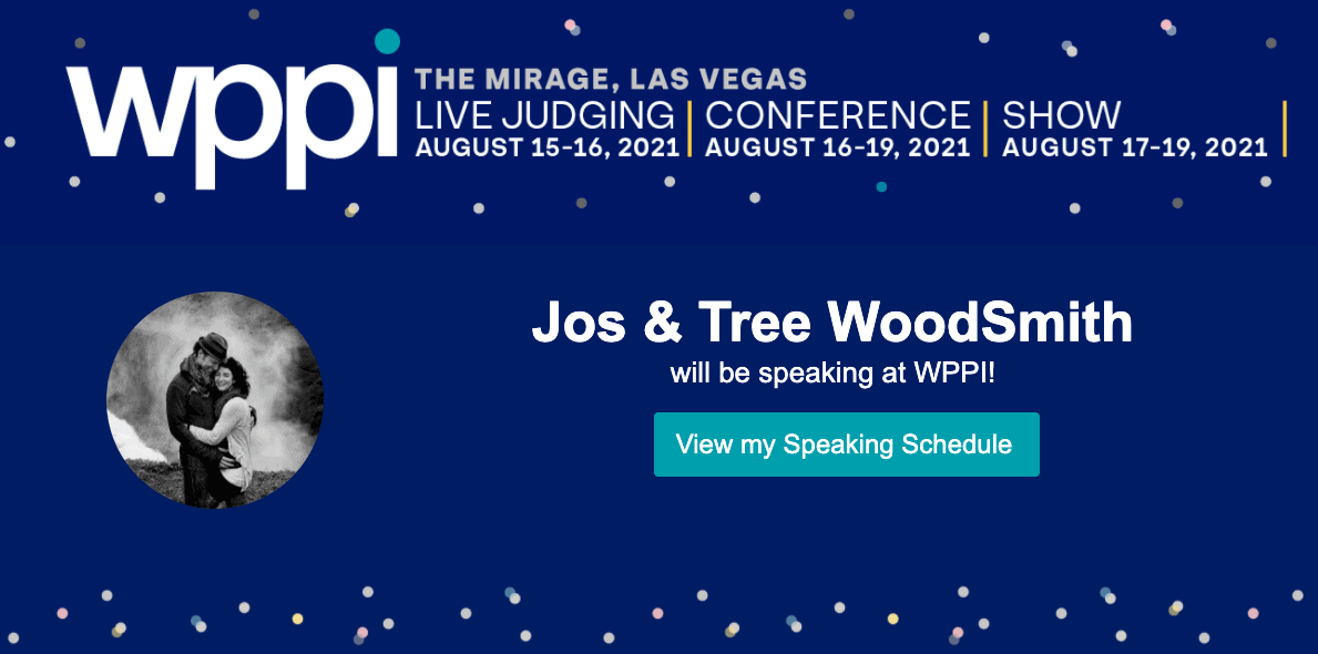 Jos and Tree speak at WPPI 2021 as educational photographers on a photo walk