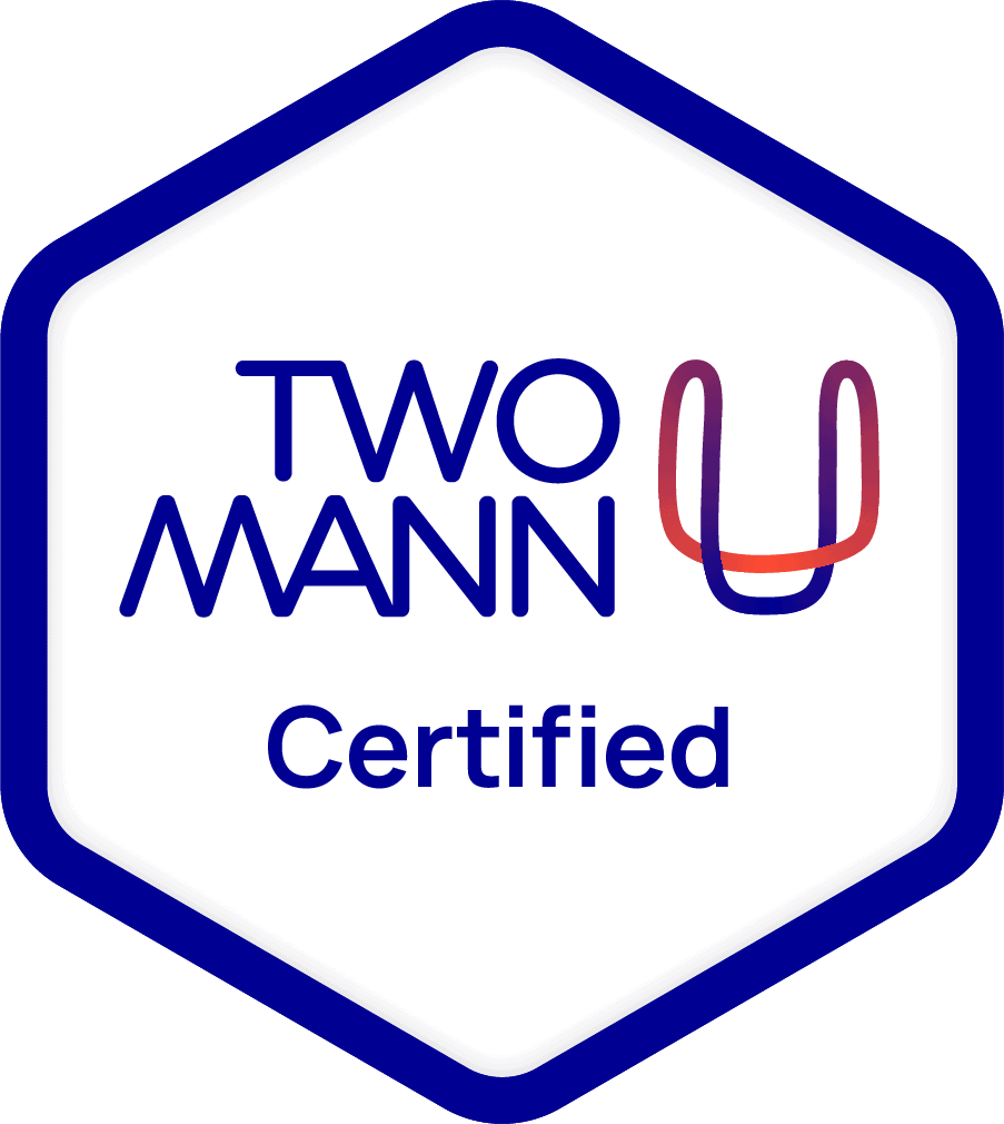 TMU certification for wedding photography training with two mann studios